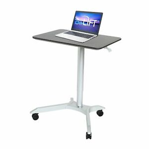 Airlift Xl 28 Sit stand Mobile Desk Adjustable Height Range 27 1 To 41 9