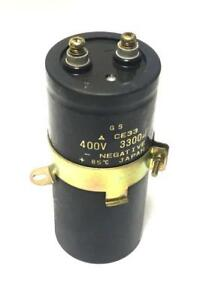 Gs Ce33 Capacitor 400 Volts 3300 Uf