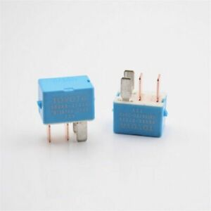 2pcs 4pin Relays 12v 20a Relay Module Unit For Toyota 90080 87026