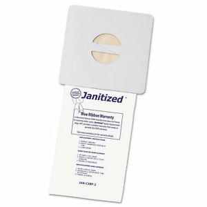 Janitized Vacuum Filter Bags Designed To Fit Nobles Portapac tennant 100 case