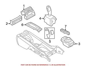 For Bmw Genuine Dashboard Air Vent 64229181094
