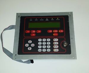 Gamewell If 602 Fire Alarm Control Panel Display 2 Loop If602 Gw31086