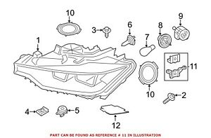 For Bmw Genuine Headlight Restoration Kit Front 63117419598