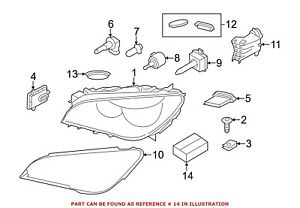 For Bmw Genuine Headlight Restoration Kit Right 63117225236