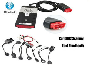 Diagnostic Scanner Kits Vci Obd2 Ds Cars Trucks Cd Software 8pcs Car Cables
