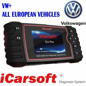 Icarsoft Eu Pro Diagnostic Scanner For Vw And All European Cars Airbag Oil Dpf