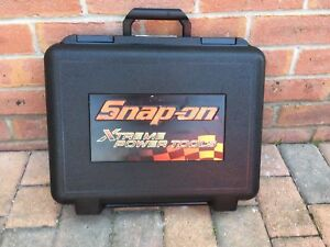 Snap on 1 2 18v Impact Driver Gun Wrench Torch Carry Case Box