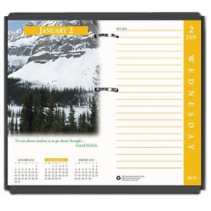 House Of Doolittle Earthscapes Desk Calendar Refill 31 2 X 6 2019