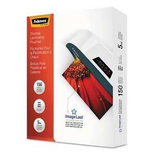 Fellowes Imagelast Laminating Pouches With Uv Protection