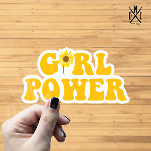 Girl Power Sticker Vinyl Decal Car Truck Wall Macbook Apple Iphone Stickers