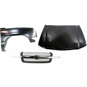 Fender Kit For 2003 05 Chevrolet Silverado 1500 For Models Manufactured In Usa