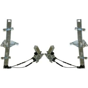 Power Window Regulator For 97 2003 Pontiac Grand Prix Set Of 2 Front With Motor