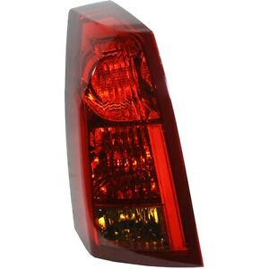 Halogen Tail Light For 2003 2004 Cadillac Cts To 1 3 04 Left Clear Red W Bulbs