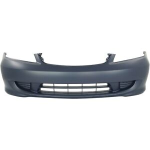 Front Bumper Cover For 2004 2005 Honda Civic Primed Capa