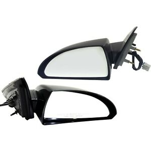 Side View Mirrors Power Left Lh Right Rh Pair Set For 06 13 Chevy Impala