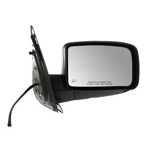 Power Mirror For 2004 2006 Ford Expedition Front Passenger Side Heated Paintable