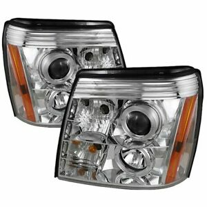 Spyder 5037930 Headlight For 2002 2006 Cadillac Escalade And Ext Left And Right
