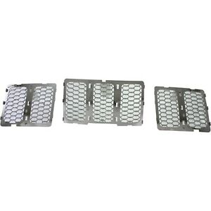 Grille For 2014 2015 Jeep Grand Cherokee Chrome Plastic Capa