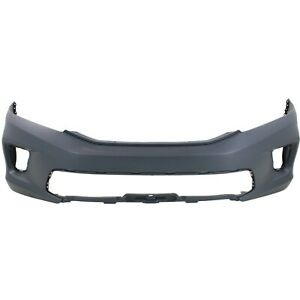 Bumper Cover For 2013 2015 Honda Accord Ex Ex l Lx s Coupe Front Primed Capa