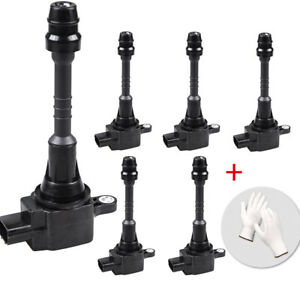 Kincarpro Pack Of 4 Ignition Coils For 2001 2006 Nissan Sentra Almera 1 8l L4