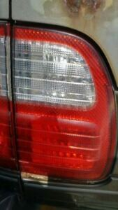 Driver Left Tail Light Tailgate Mounted Fits 98 02 Lexus Lx470 177655