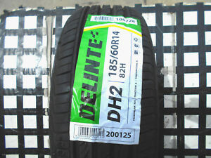 4 Never Used Tires 185 60 14 Delinte Dh2 All weather M s 185 60r14 50k Rated
