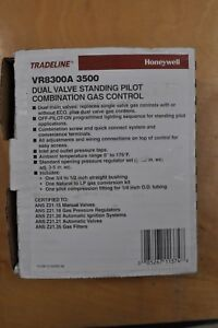 Honeywell Vr8300a 3500 Dual Valve Standing Pilot Combination Gas Control