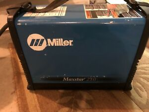 New Miller Maxstar 210 Dc Tig And Stick Welder