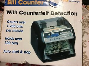 Digital Money Bill Counter Royal Rbc 1003 bk Currency Black Counterfeit Detect