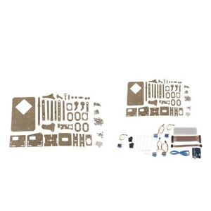 2 Set 4 dof Mechanical Robot Robotic Arm Clamp Claw Mount Kit For Arduino