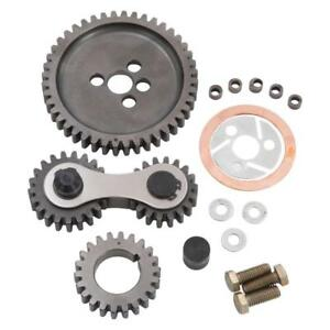 Edelbrock Engine Timing Gear Set 7890 Accu drive For Chevy 262 400 Sbc