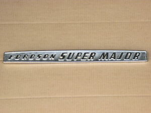 Metal Fordson Emblem For Ford Super Major
