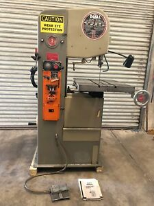 Doall 1611 h 16 Vertical Band Saw Hydraulic Table gmt 1761