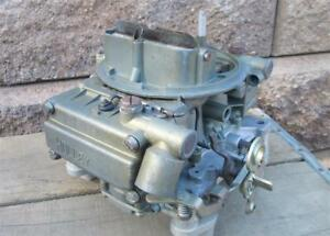 Oem Gm Holley Carb List 3419 1966 Chevelle Ss 396 360hp 4 Speed Dated 613 Sweet