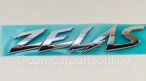 Oem Toyota 2011 2016 Zelas Scion Tc2 Agt20 Rear Chrome Emblem Badge Genuine New