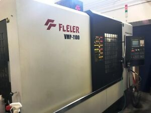 Used Feeler Vmp 1100 Cnc Vertical Machining Center New 2012