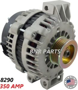 350 Amp 8290 Alternator High Output Chevy Gmc Isuzu Oldsmobile Saab Performance