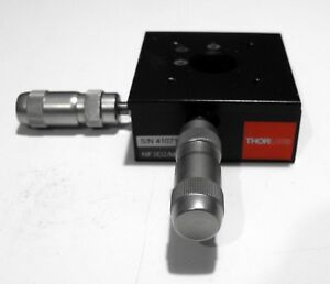 Sweet Thorlabs Flexure Stage With Differential Actuators Xy 3 0 Mm Travel
