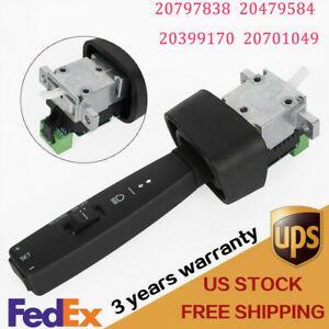 New Black Turn Signal Switch For Volvo Vnl Vnm Truck 20797838 S21325 Durable