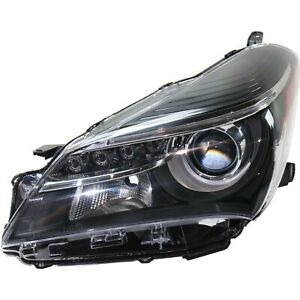 Capa Headlight Driving Head Light Headlamp Driver Left Side Lh Hand To2518151