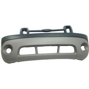 Bumper Cover For 2003 Ford Explorer Front Primed With Emblem Provision