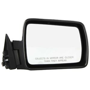 Mirror For 1984 1993 Jeep Cherokee 1986 1992 Comanche Passenger Side Paintable