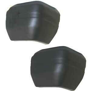 Bumper End Caps Set For 1984 1996 Jeep Cherokee 87 90 Wagoneer Rear Textured