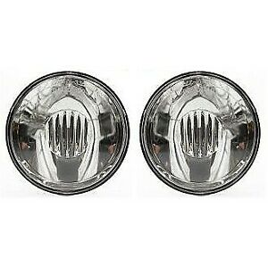 New Fog Lights Lamps Set Of 2 Driver Passenger Side Chevy Suburban Coupe Pair