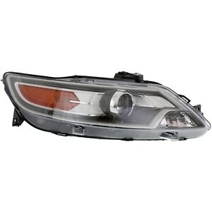 Headlight For 2010 2011 2012 Ford Taurus Right Sho Model With Bulb