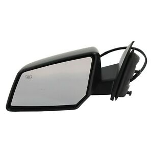 Power Mirror For 2008 Gmc Acadia Driver Side Heated Textured Black
