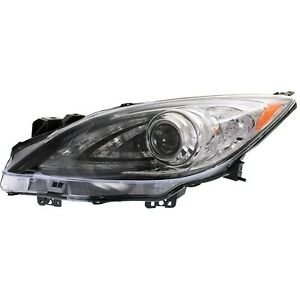Hid Headlight For 2010 2013 Mazda 3 Driver Side Manual Leveling W D