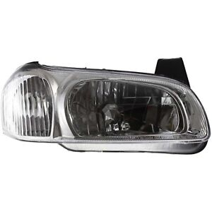 Headlight For 2000 2001 Nissan Maxima Right Clear Lens With Bulb