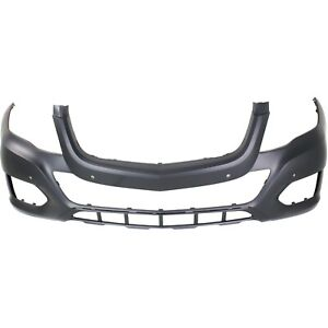Bumper Cover For 2013 2015 Mercedes Benz Glk350 Front Primed W Parktronic Holes