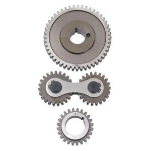 Edelbrock Engine Timing Gear Set 7895 Accu drive For Pontiac 326 455 V8